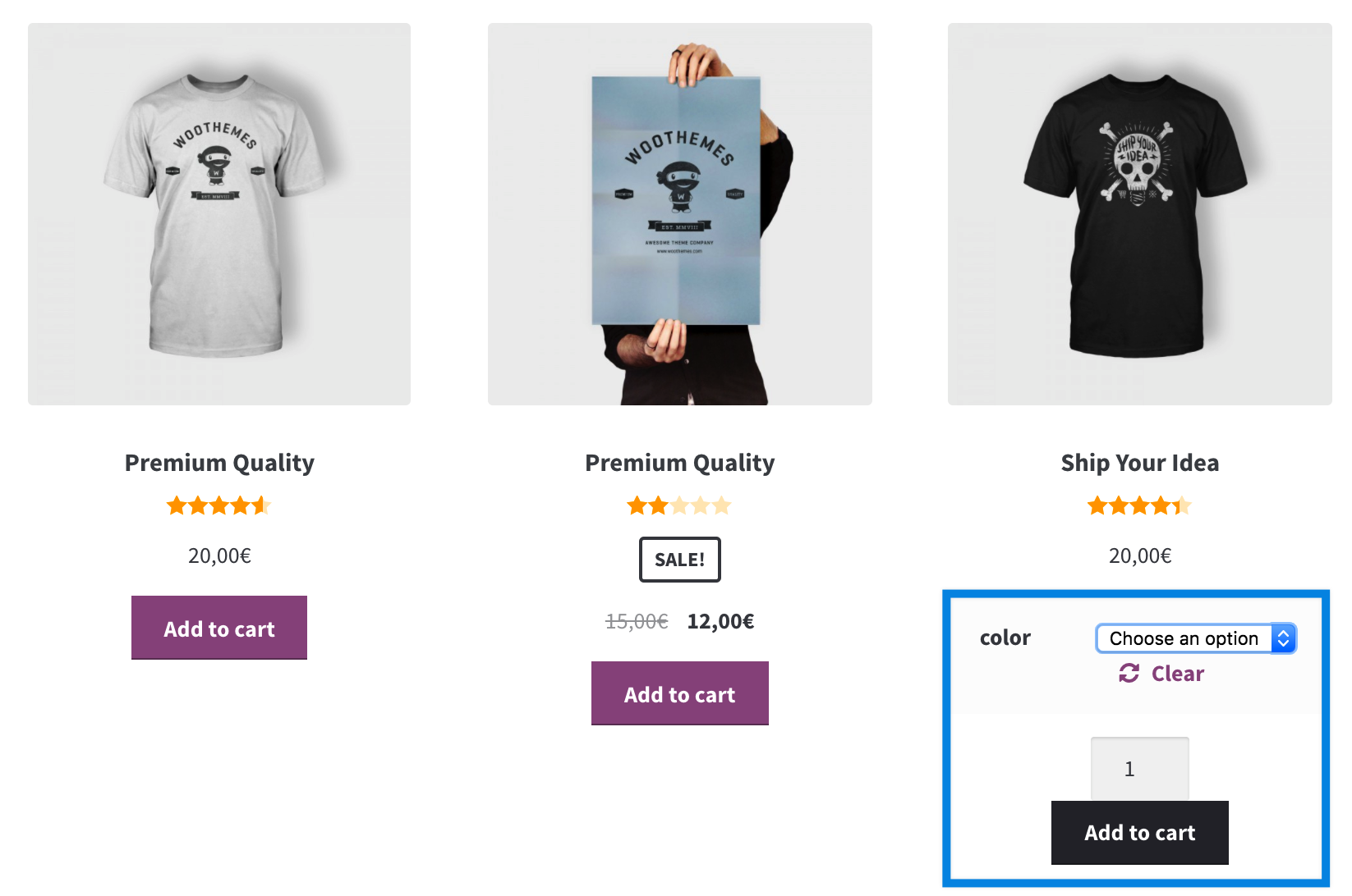woocommerce-dropdowns-selects-on-archive-page